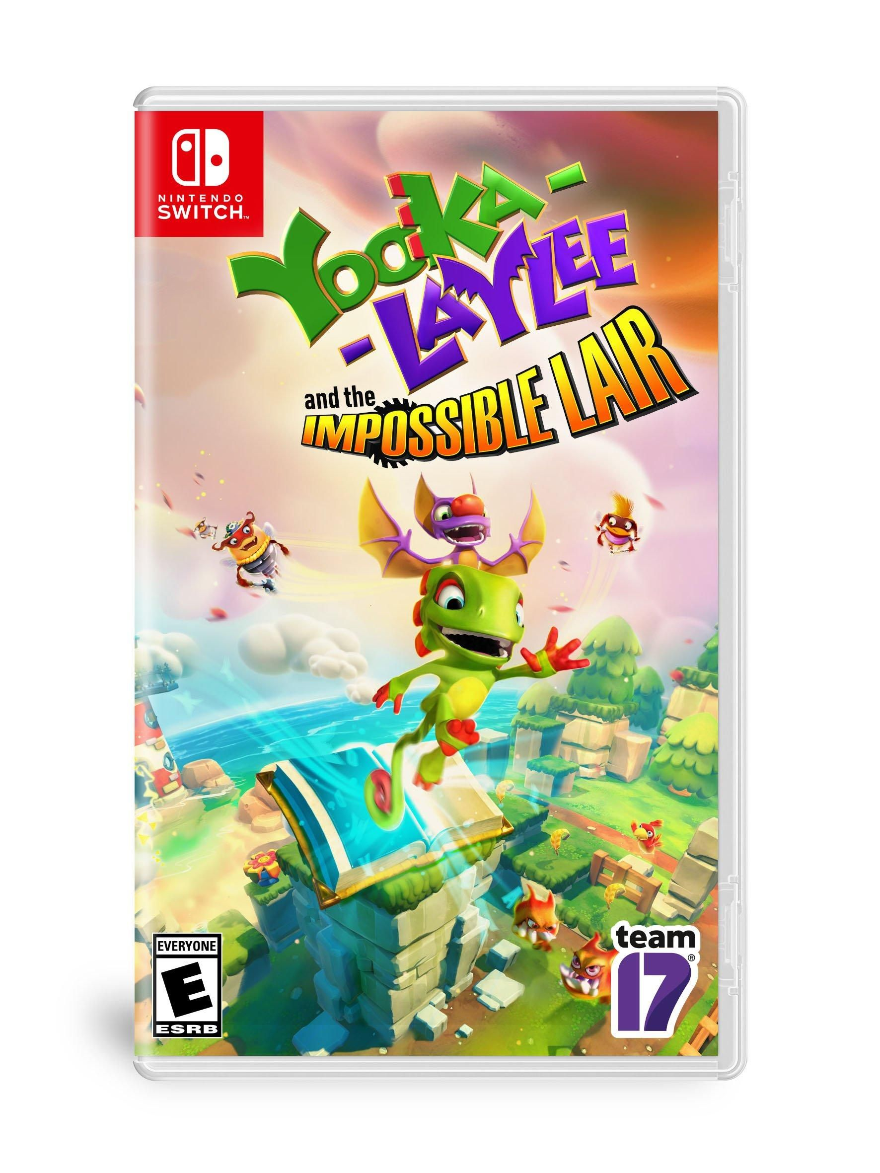 YookaLaylee and the Impossible Lair Nintendo Switch