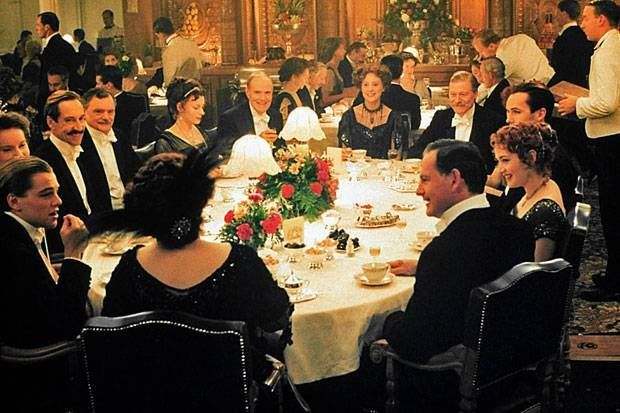 beautiful leather chairs used in the dining room of the movie