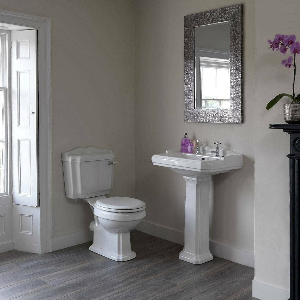 The Bath Co Winchester cloakroom suite with
