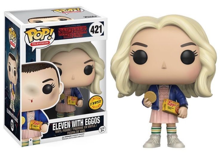 11 Whit Eggos Stranger Things T1 Stranger Things Funko Pop Pop Vinyl Figures Funko Pop Tv