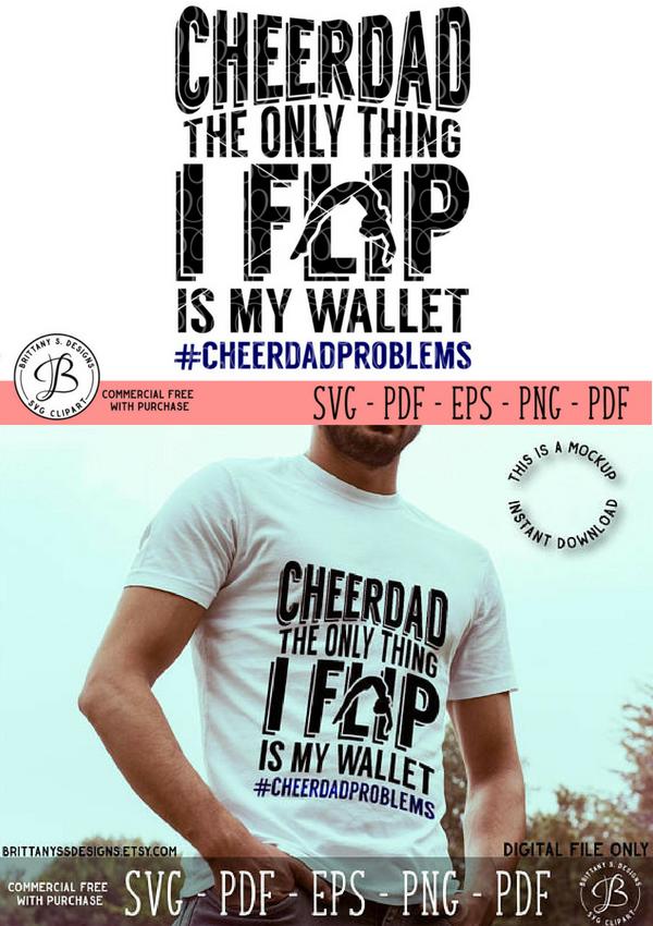Download Cheer Dad SVG | Cheerleading quotes, Cheer dad shirts, Dad ...