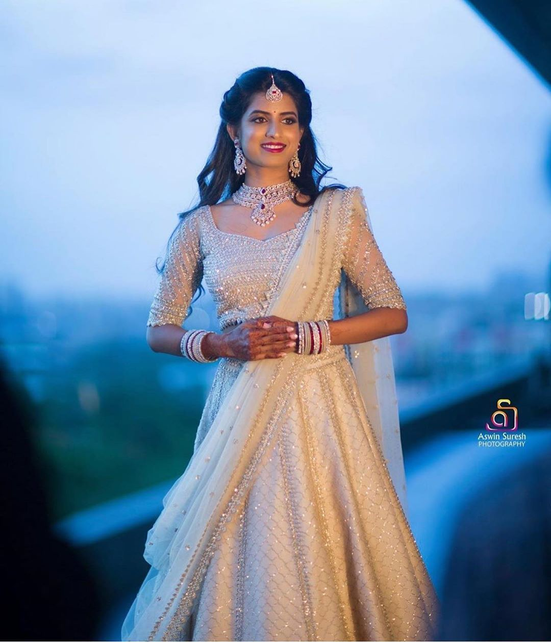 Hyderabad Bridal Inspiration On Instagram Stunning Bride Photo By Aswin Suresh Photogra Indian Bridal Dress Indian Bridal Fashion Indian Bridal Outfits