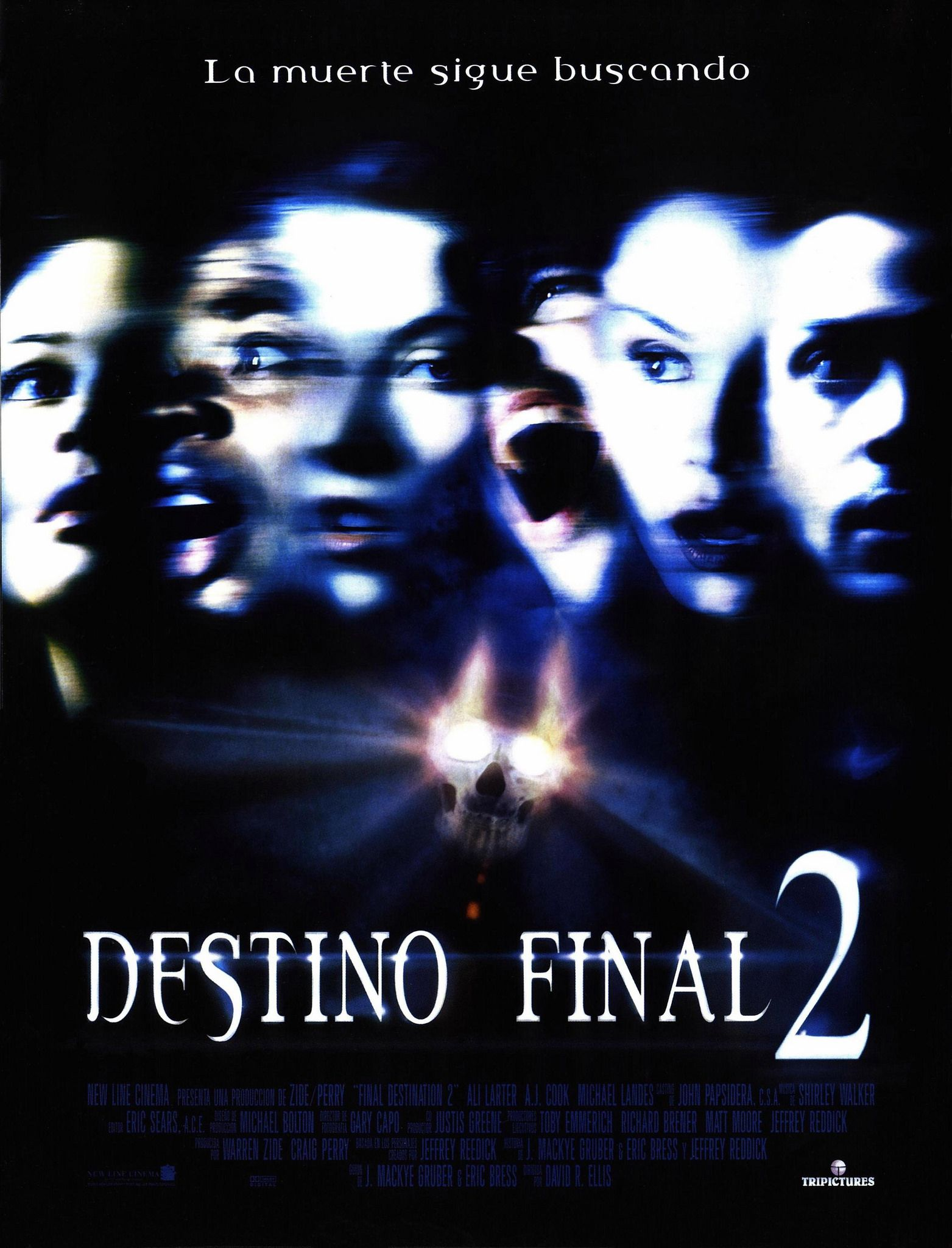 Destino Final 2 Destino Final 2 Peliculas De Terror Horror Movie Posters