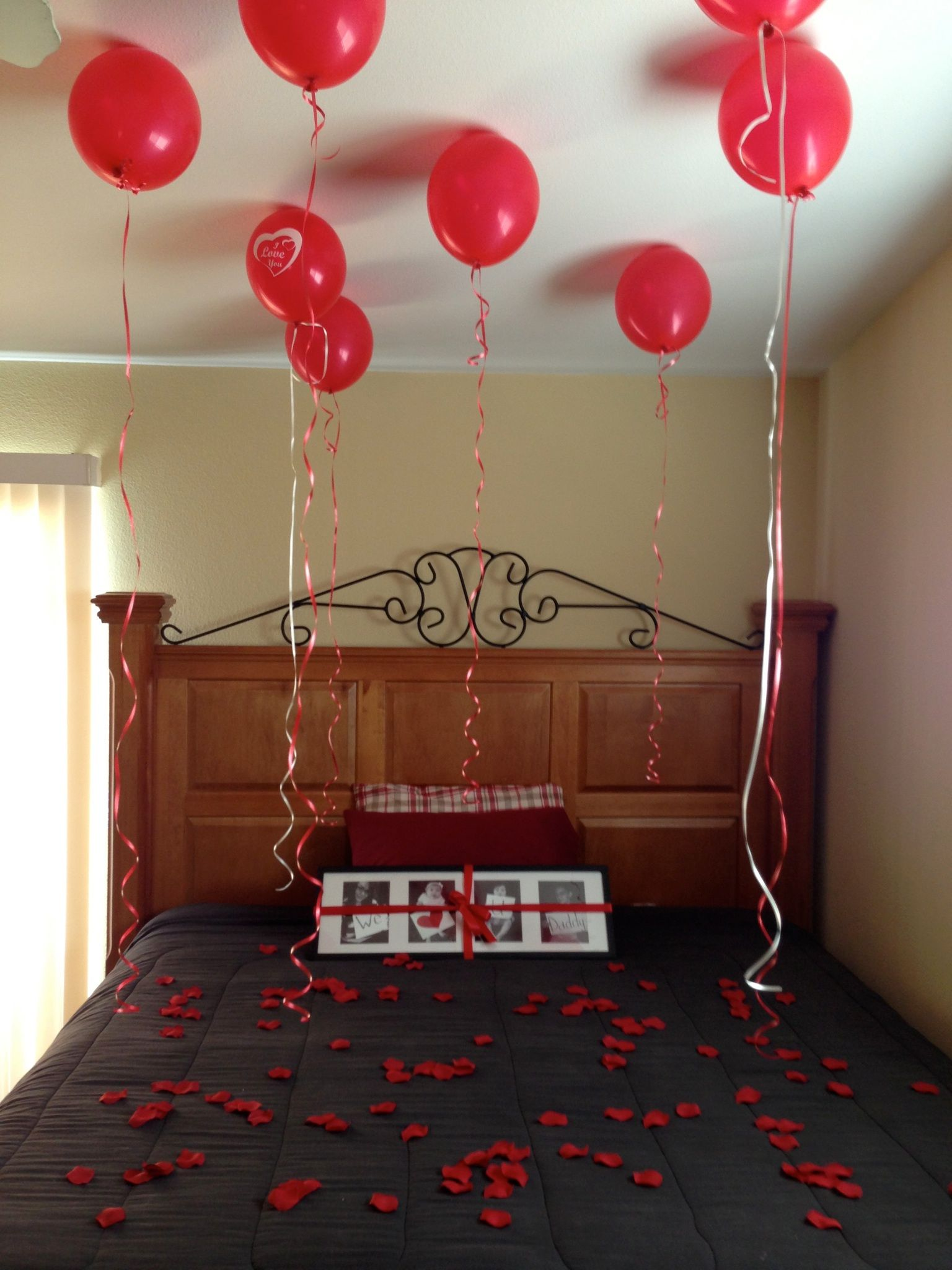 Valentines Day Ideas For The Bedroom Valentineu0027s Day for him (husband-father)