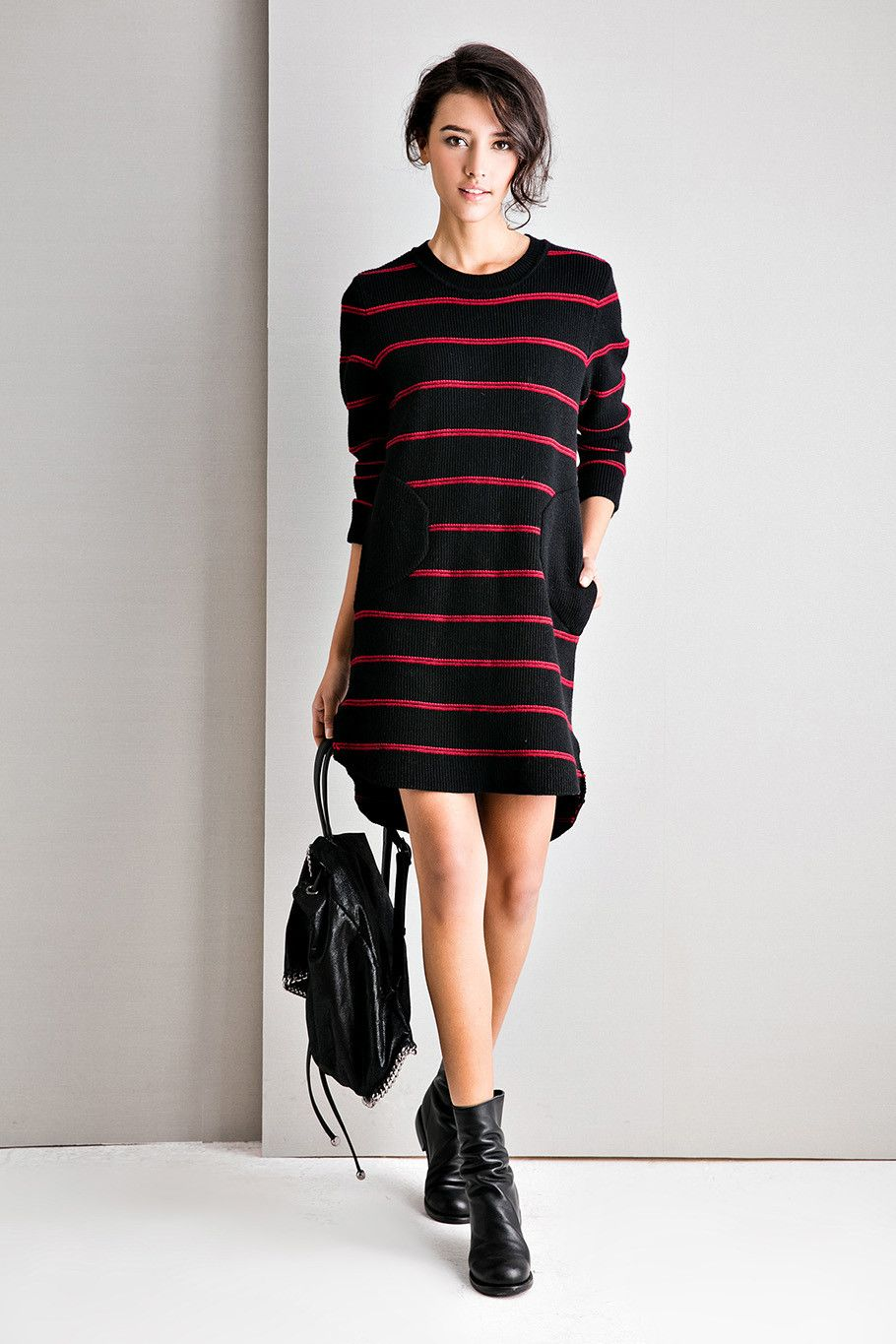 #AdoreWe Few Moda, Minimalistic Fashion Brands Online - Designer Few Moda Left In a Spin Dress DR0672 - AdoreWe.com