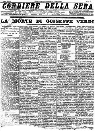Storia Del Corriere Della Sera Storia Storia Contemporanea Fatti Della Storia