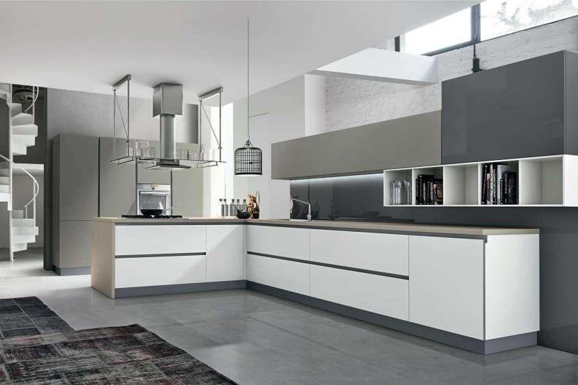 Cucine bicolore - Cucina bicolore moderna | Cucina