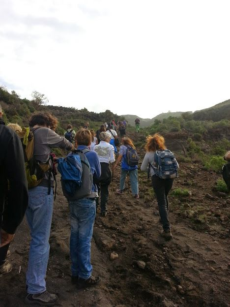 #conosciletueisole #vulcano Valle Roja 16Nov14  Valle Roja - Vulcano #trekking #hiking #aeolianislands #volcano www.nesos.org