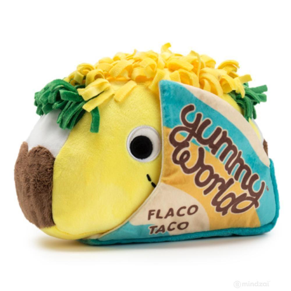 "Yummy World Flaco Taco 16/"" Plush Toy"