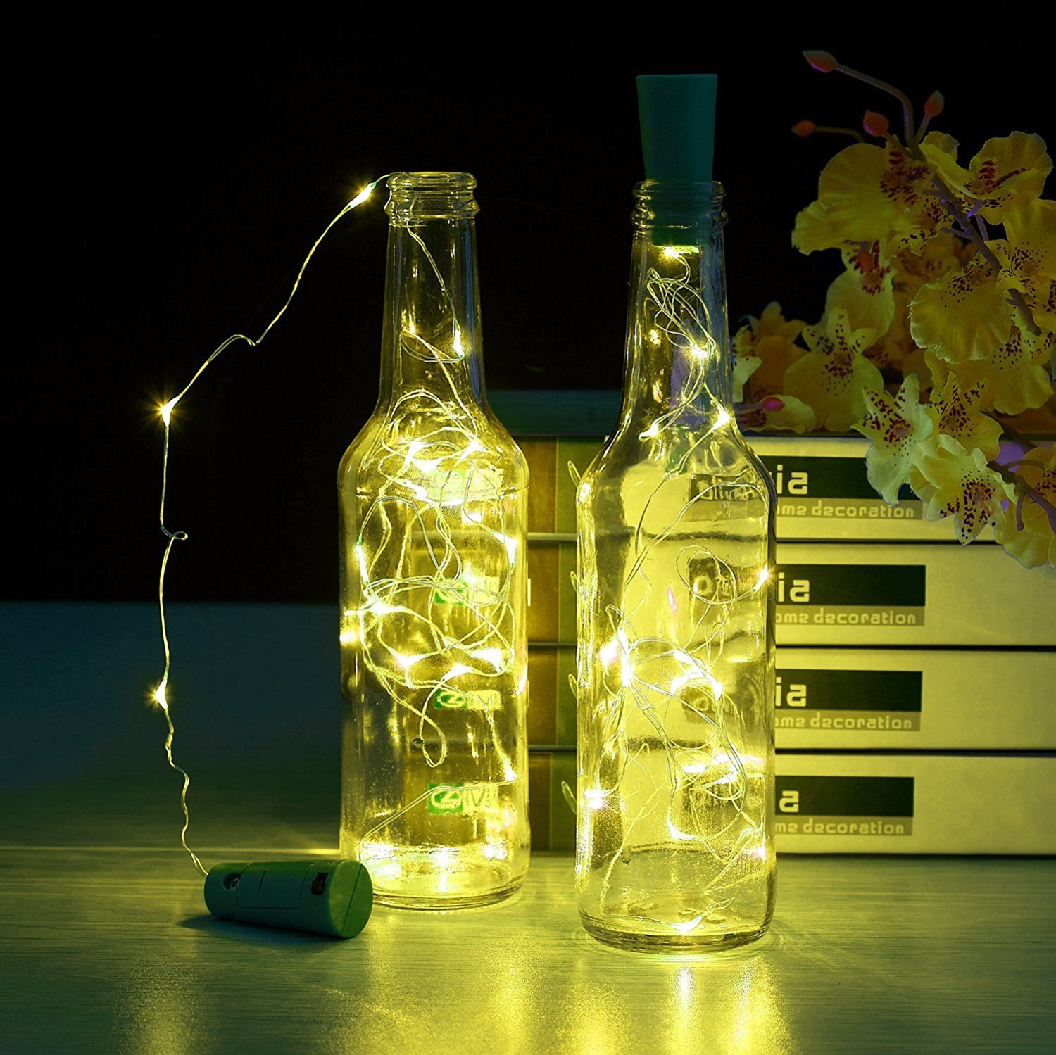 Wine Bottle Light Diy
