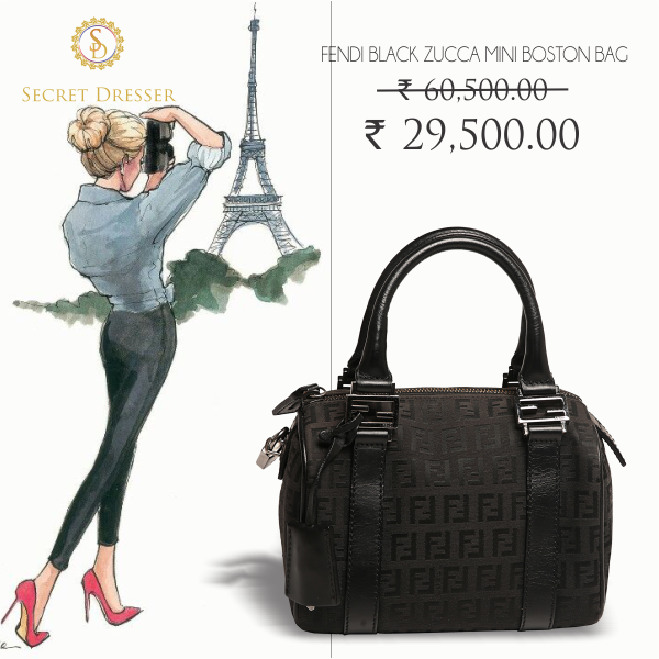 14c909259a804 Visiting Europe is expensive but this Fendi bag isn t. Shop luxury at http