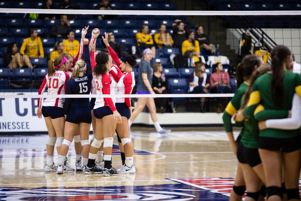 Fight Falls in Five Volleyball news, Belmont bruins, Fight