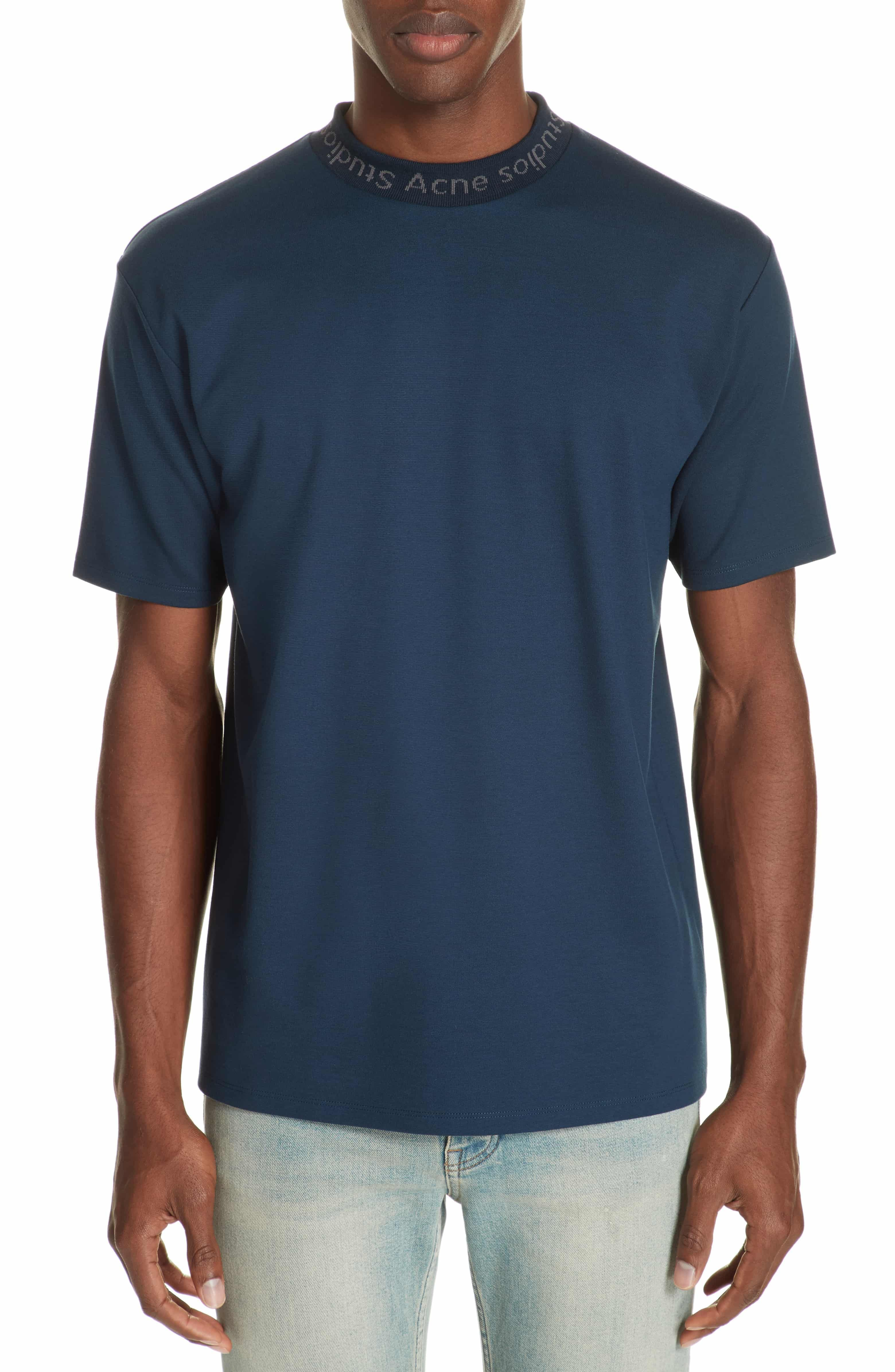 89b3f5771a1 Navid Logo Collar T-Shirt