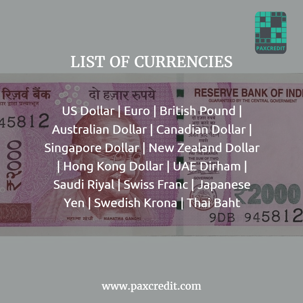 We support money transfer of 14 major foreign currencies with ...
