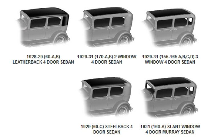 Ford Model A Body Design Identification With Images Ford