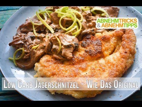 Low Carb Jägerschnitzel - deftig, lecker und wie das Original