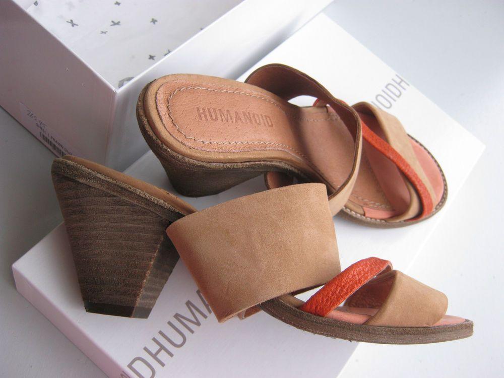NIB: Humanoid shoes 'SHELL' in prawn/duo size 37/uk4 new! rtp 265,95 euro