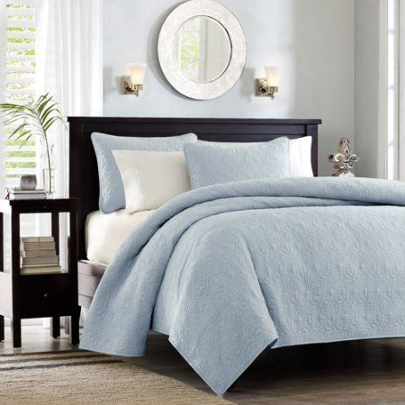 Home Essence Vancouver Bedding Coverlet Set - Walmart.com | Ideas ...