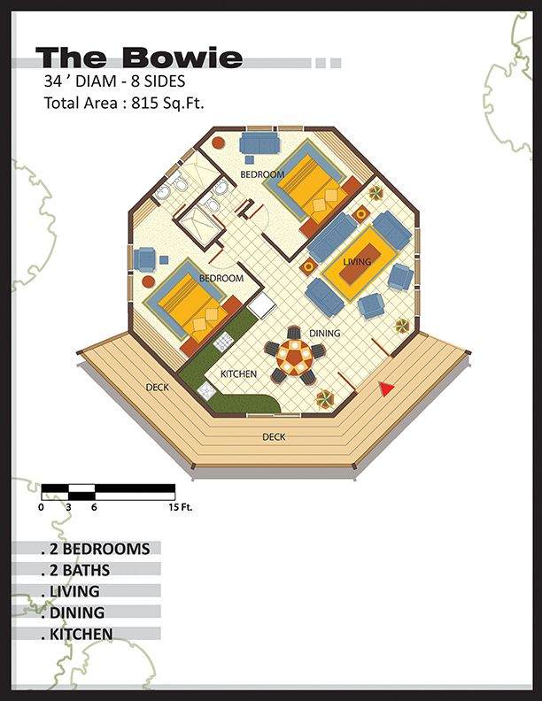 Octagonal Homes House Plans Hexagon House Octagon House