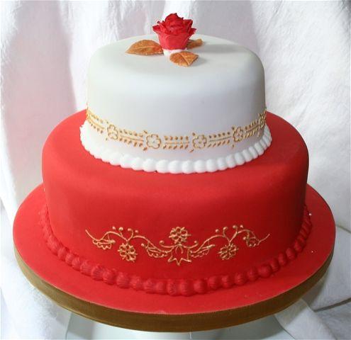 Indian Inspired Wedding Cakes