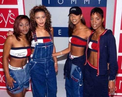 Destiny S Child Wearing Overalls Producciones De Moda Moda