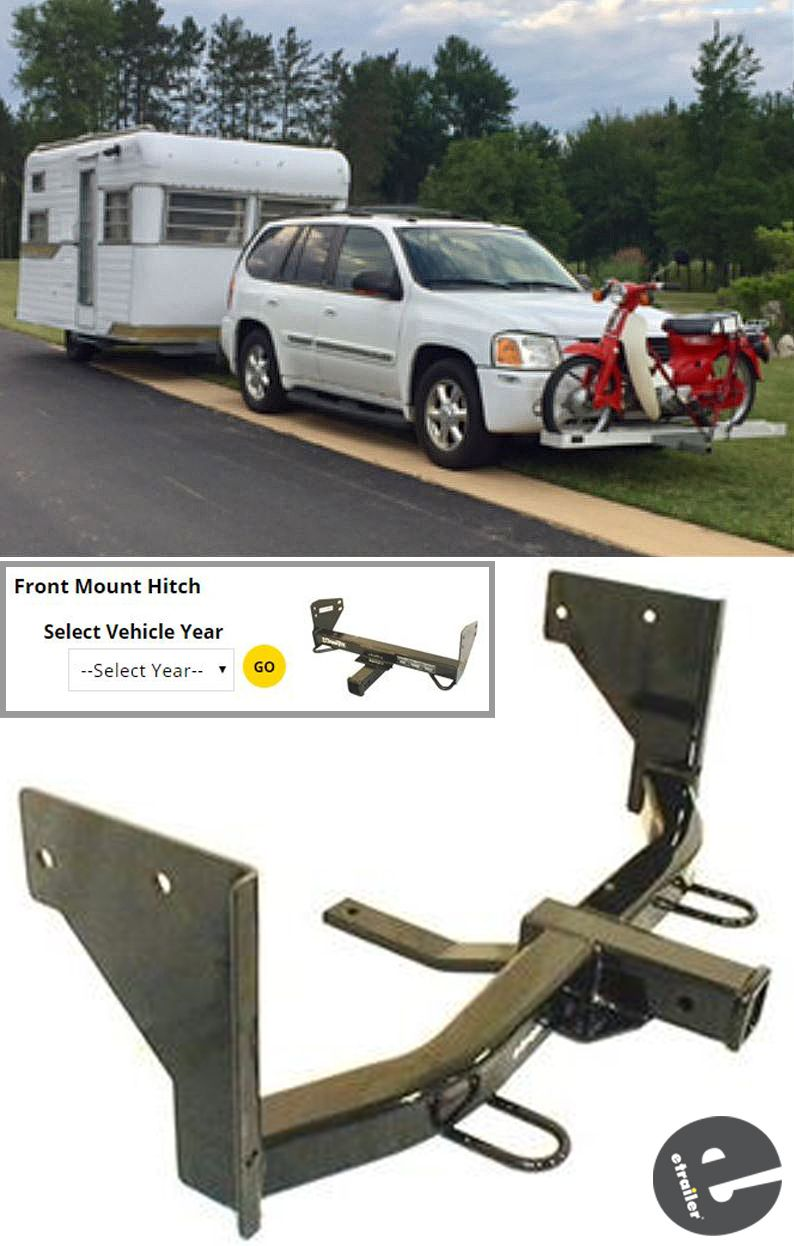 Front Mount Hitches Are The Perfect Addition To Your Vehicle When