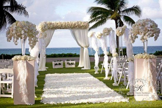 Gazebo Wedding Ceremony Aisle