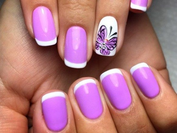 Beautiful french manicure nail ideas designs 2016 fashion te nails pinterest french Fashion style and nails facebook