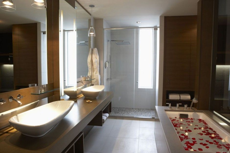 extraordinary germain calgary hotel luxury bathroom interior design listed in bathroom lighting modern bathroom subject also contemporary bathroom vanities - Hotel Bathroom Design