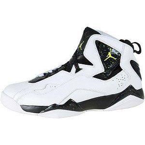 new style 4afc1 76588 should be under JORDANs Nike Men s NIKE JORDAN TRUE FLIGHT BASKETBALL SHOES  10 (WHITE NEON YELLOW BLACK) (Apparel)