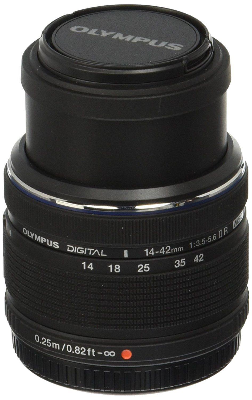 Amazon Com Olympus 14 42mm F 3 5 5 6 Ver Ii R Interchangeable Lens For Olympus Panasonic Micro 4 3 Cameras Olympus Camera Digital Camera Lens Slr Lenses