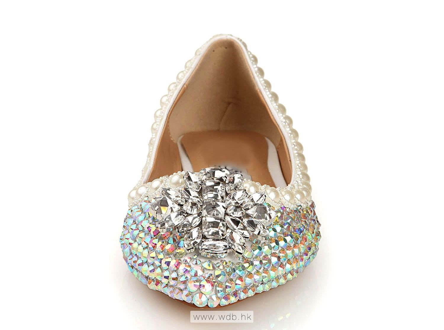 Comfortable Multicolor Beaded Leather shoes $46.98