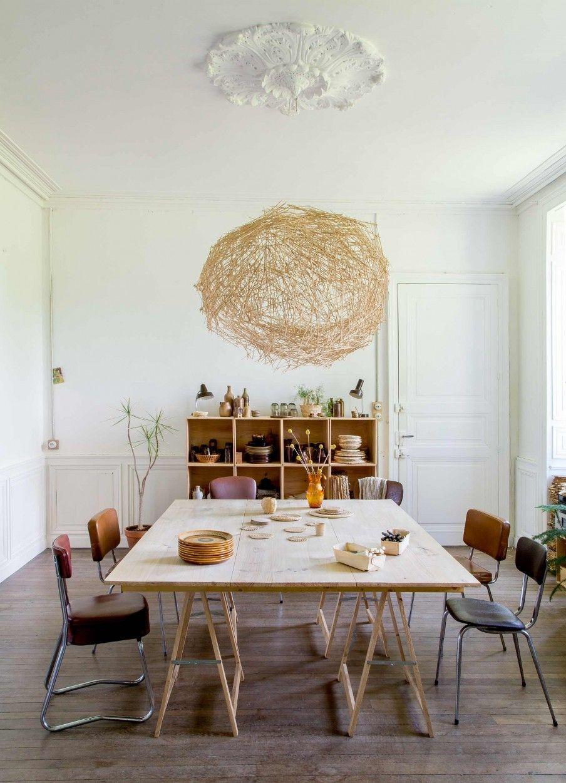 Table Sur Treteaux Int Pinterest # Meuble Tv Treteaux