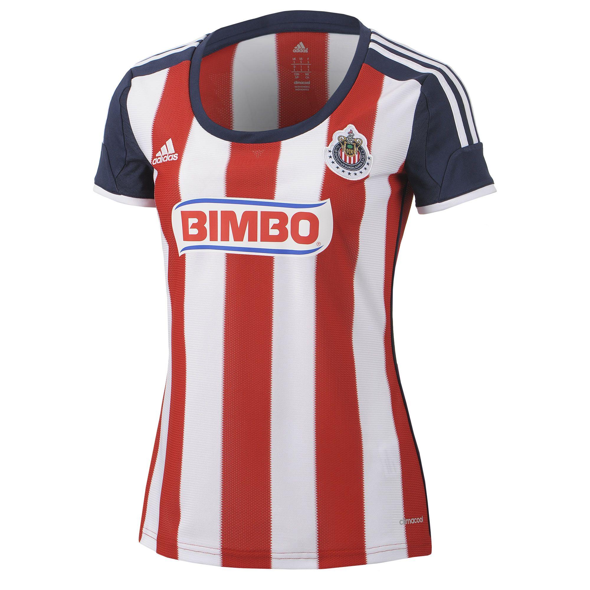 Jersey local Chivas de Guadalajara mujer en adidas.mx. Descubre todos los y  colores disponibles en la tienda adidas online de México. 7cbacbe09a028