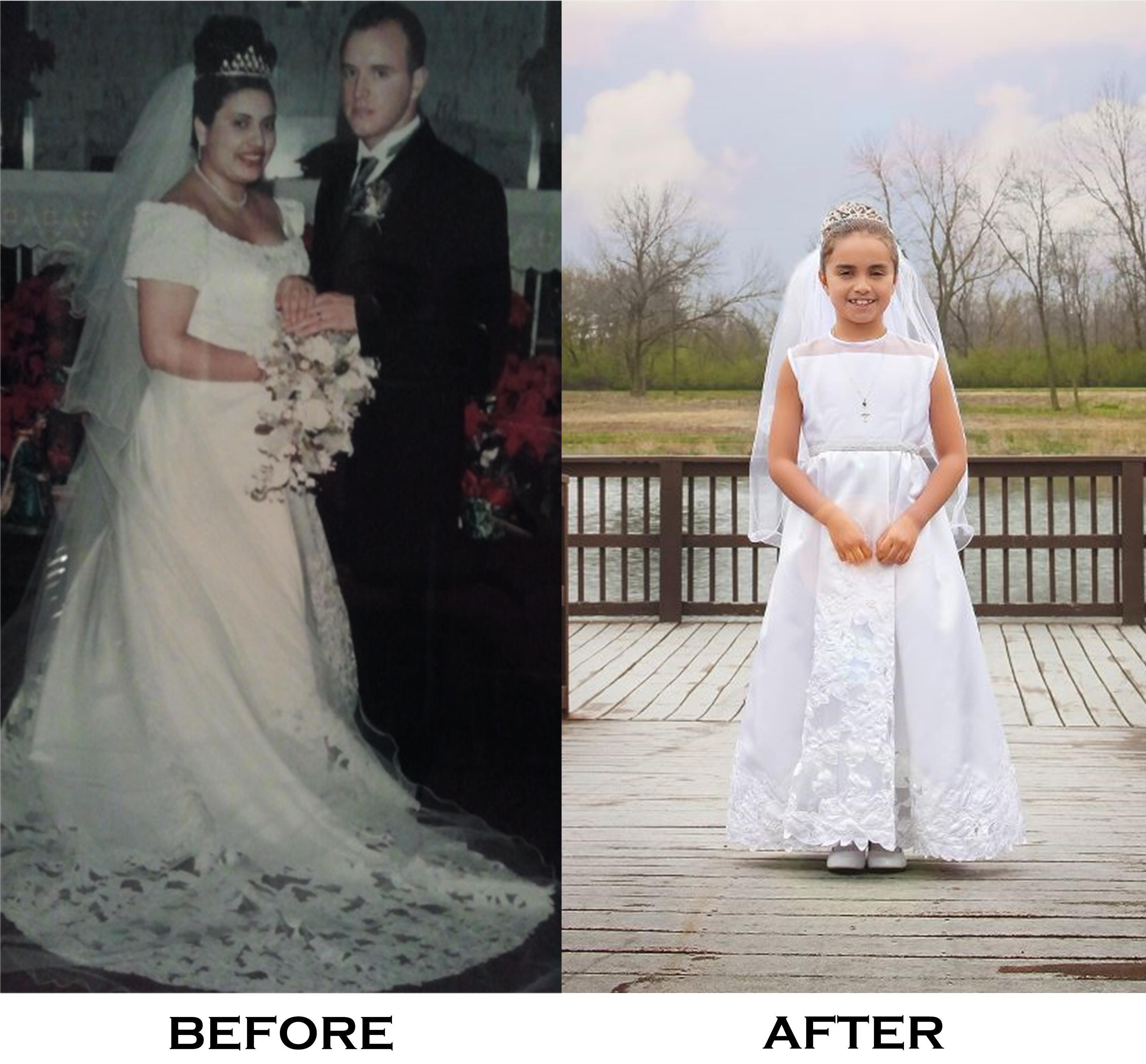 First Ever Wedding Dress