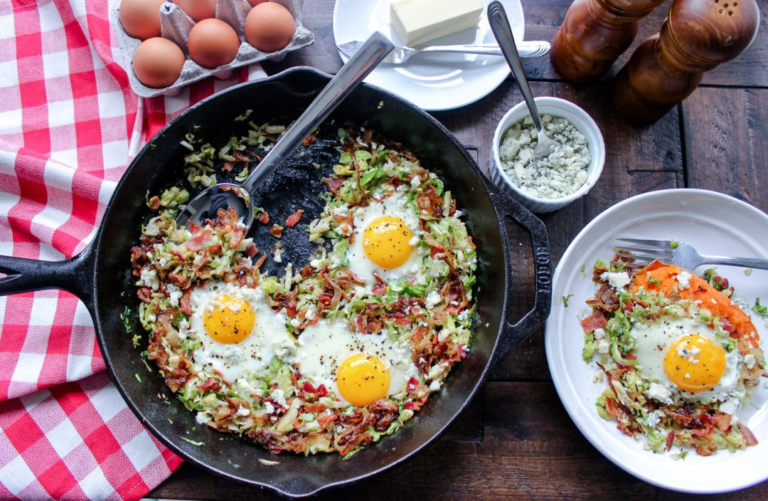 Brussels Sprout Hash Recipe Brussel Sprouts Bacon