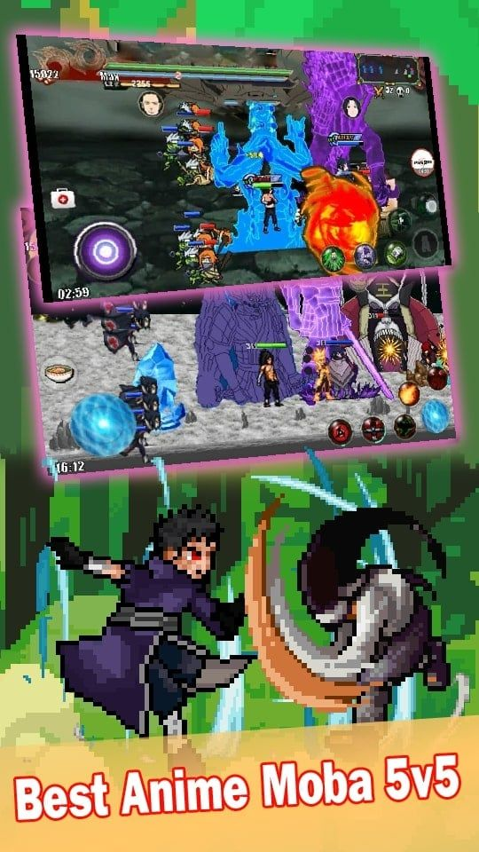 League of Ninja Moba Battle APK v3.0.1 Download for Android