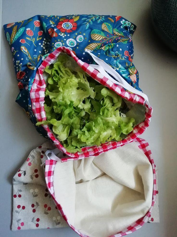 Sac à salade – couture