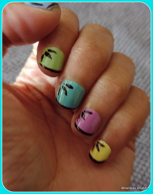 Multicolor Simple Short Nail Design Cute Nails In 2018