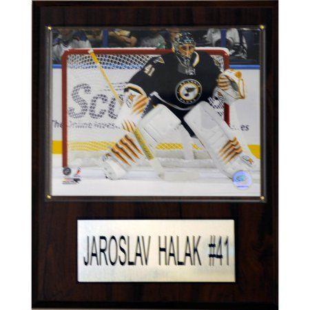 C Collectables NHL 12x15 Jaroslav Halak St. Louis Blues Player Plaque, Multicolor