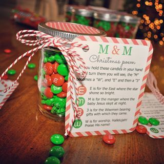 M M Christmas Poem Candy Jar Tutorial Simple Sojourns Christmas Poems Family Christmas Gifts Homemade Gifts