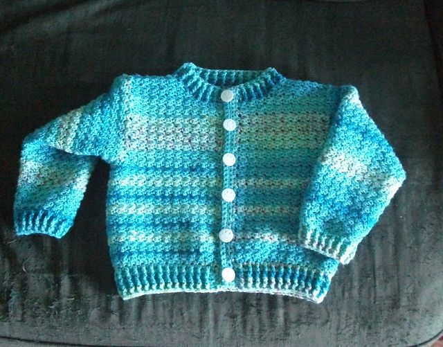 Child\'s crochet cardigan - free pattern   Crochet Ideas   Pinterest ...