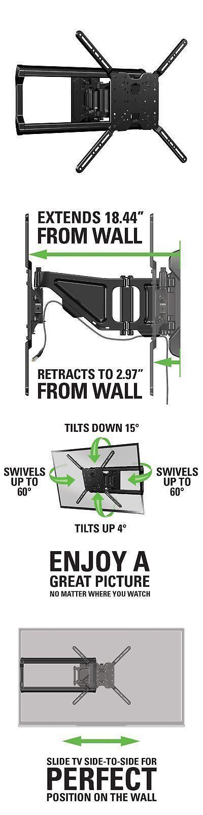 tv mounts and brackets sanus full motion tv wall mount for 37 to 80 - Sanus Full Motion Tv Wandhalterung
