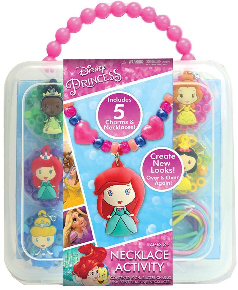 Tara Toy Disney Princess Necklace Activity Set Walmart