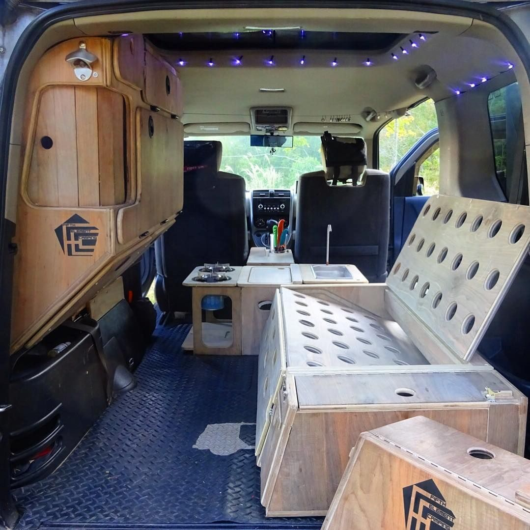 The Honda Element Micro Camper System  Install or remove in minutes