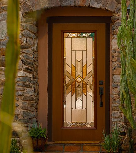 Decorative Glass Insert Available Through Designer Glass Of Wny Www Designerglasswny Com Decorative Door Glass Front Door Design Fiberglass Entry Doors