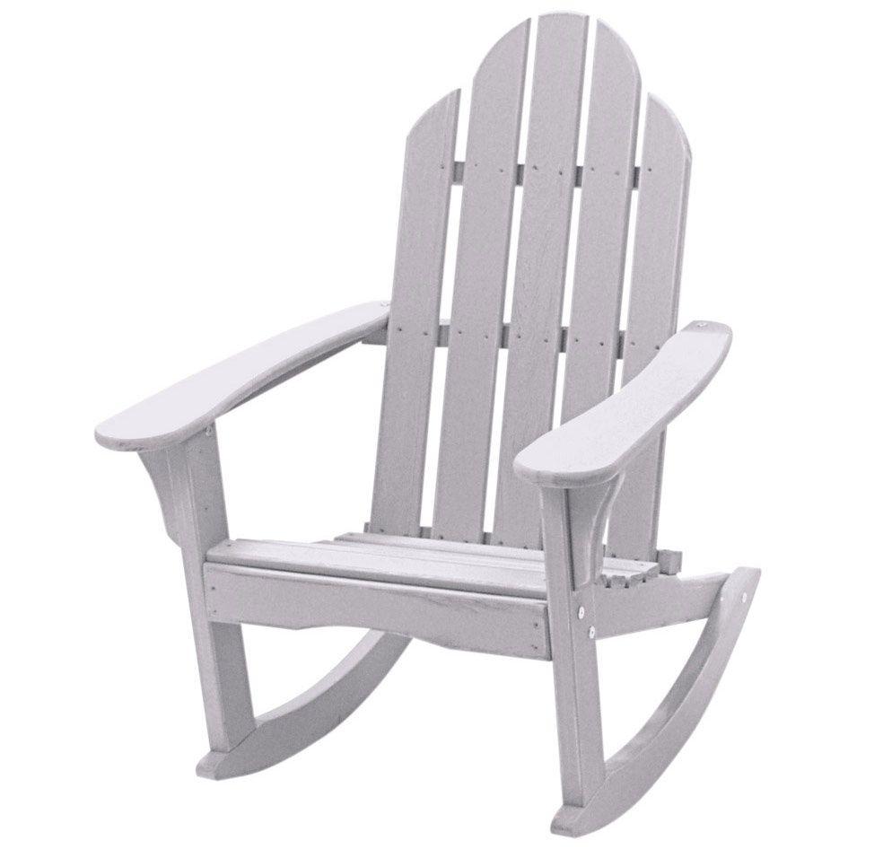 White Resin Adirondack Chairs Lowes  Superior Adirondack