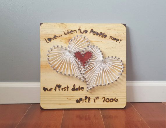 Wife Gift Personalized String Art Anniversary Gifts Wedding Gifts ...