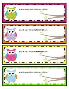 Designed Preschool Posting Cards
