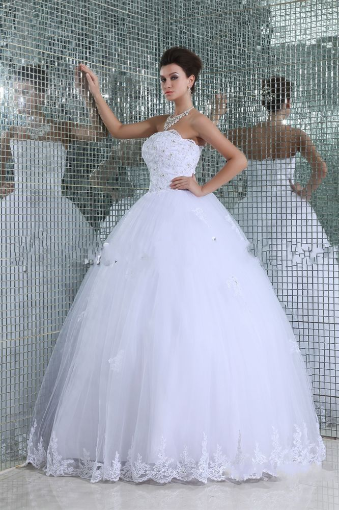 Embroidery Ball Gown White Quinceanera Dress | Quinceanera Dresses ...